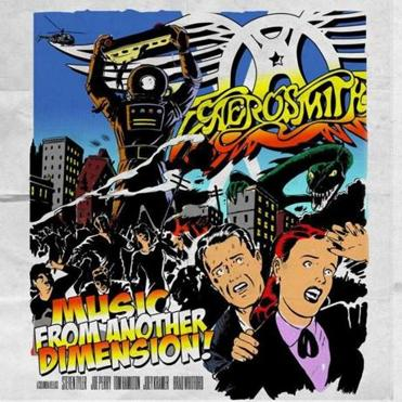 "Aerosmith's album ""Music From Another Dimension!"""